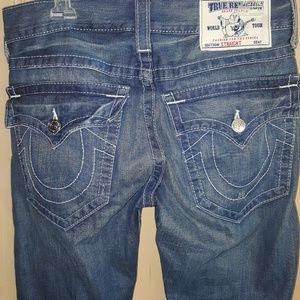 Men's size 30 straight leg True Religion jeans